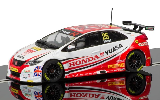 Scalextric: BTCC Honda Civic Type R - Slot Car