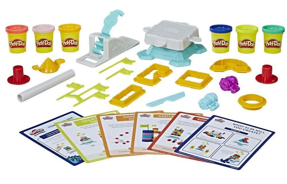 Play-Doh: Academy Tower Builder - Activity Kit image