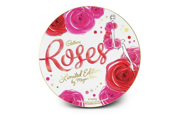 Cadbury Roses - Limited Edition Megan Hess Tin (620g)