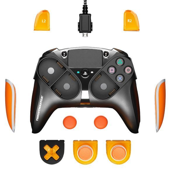 Thrustmaster Eswap LED Orange Crystal Pack screenshot