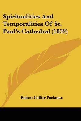 Spiritualities And Temporalities Of St. Paula -- S Cathedral (1839) by Robert Collier Packman image
