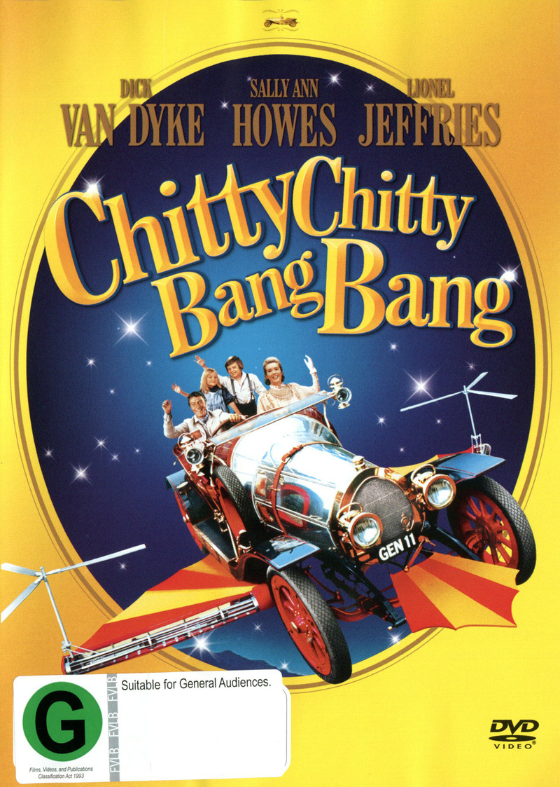 Chitty Chitty Bang Bang on DVD image