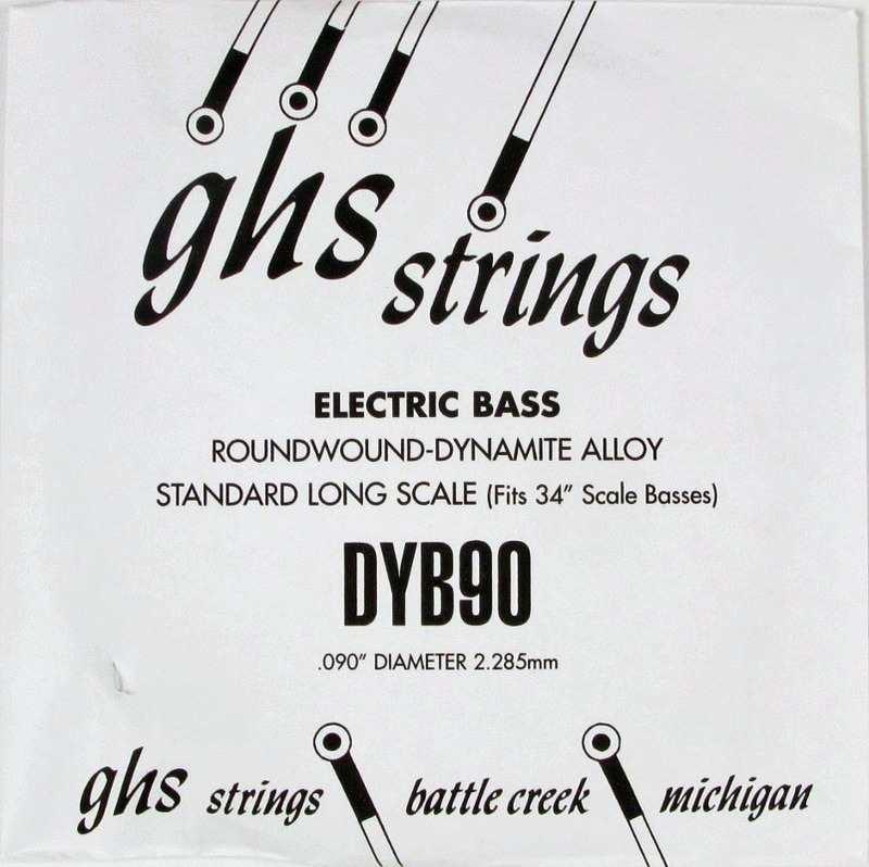 GHS 090 Dynamite Alloy Bass Boomers - Electric Bass Single String image