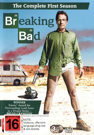 Breaking Bad - The Complete First Season on DVD image