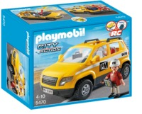 Playmobil: Construction Site Supervisors Vehicle