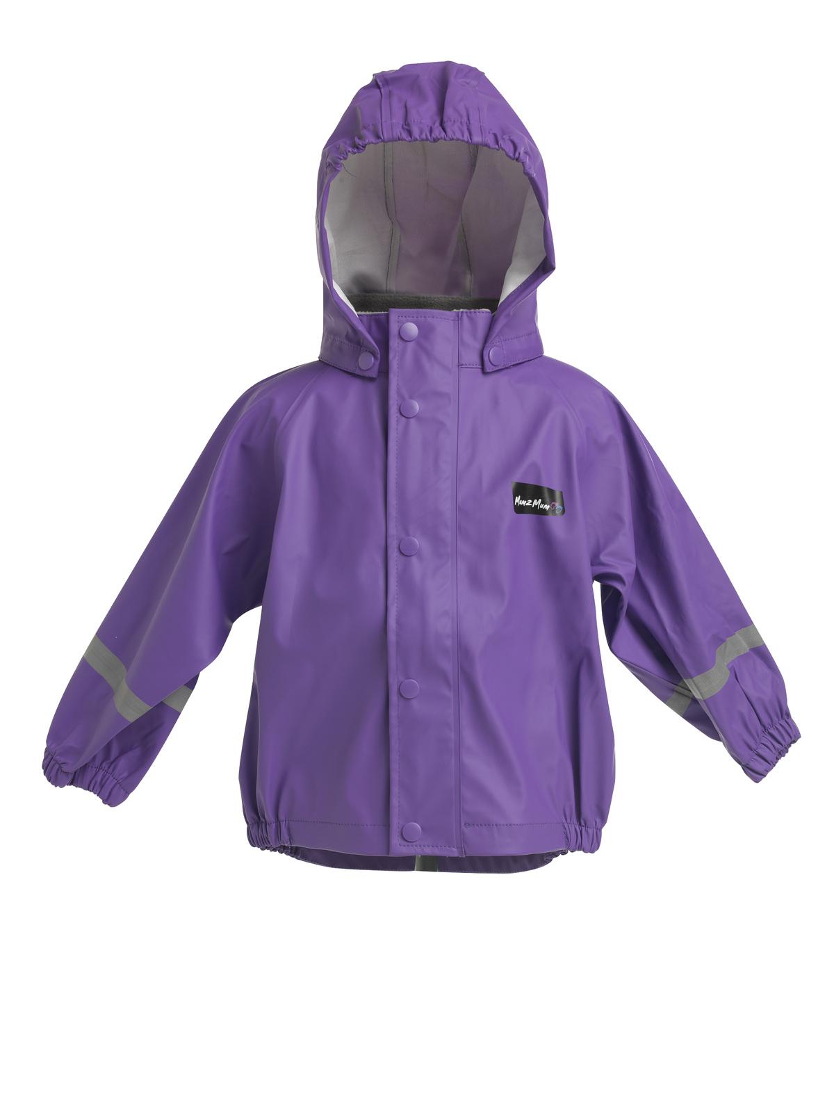 Mum 2 Mum Rainwear Jacket - Purple (4 years) image