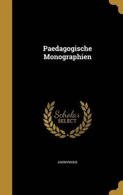 Paedagogische Monographien image