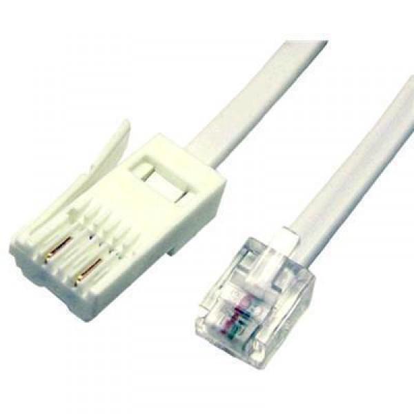 2m BT-RJ11 Modem Phone Cable