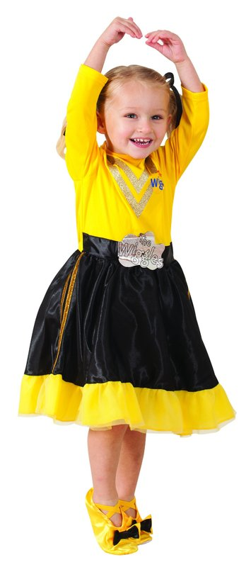 The Wiggles - Emma Wiggle - Deluxe Costume (Size 3 - 5)  sc 1 st  Mighty Ape & Emma Wiggle - Deluxe Costume | Girlu0027s | at Mighty Ape NZ