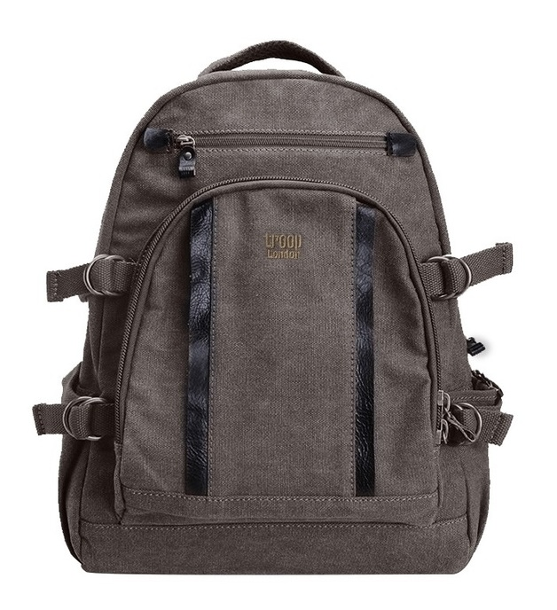 Troop London: Classic Large Backpack - Black