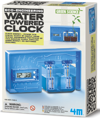 4M: Green Science Water Powered Clock Kit