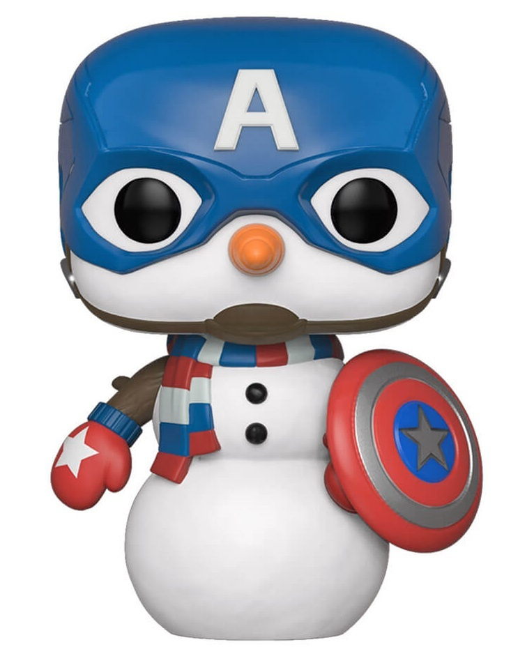 Marvel: Holiday Captain America - Pop! Vinyl Figure image