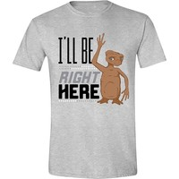 ET: I'll Be Right Here T-Shirt - Grey/XX-Large image
