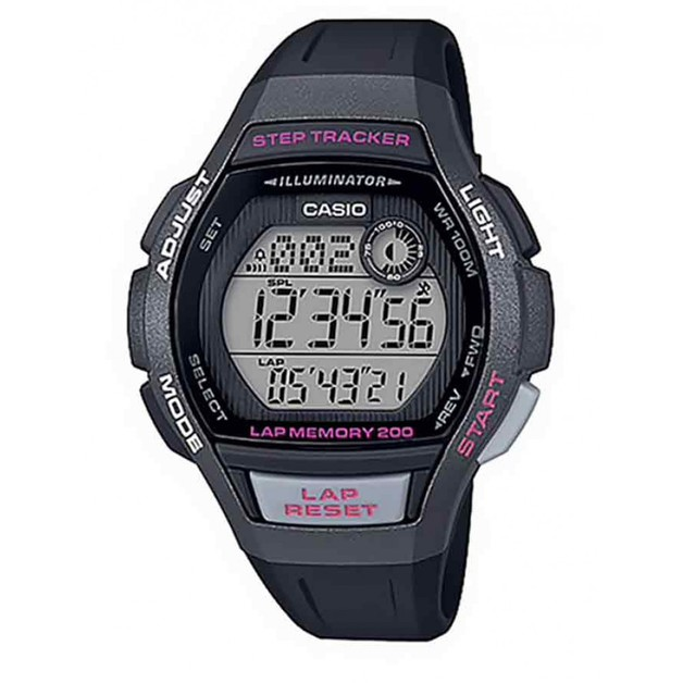 LWS2000H-1A Casio Step Tracker Runners Watch