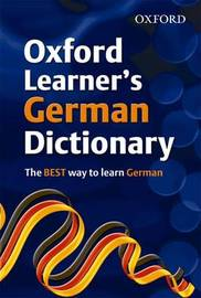 Oxford Learner's German Dictionary by Oxford Dictionaries image