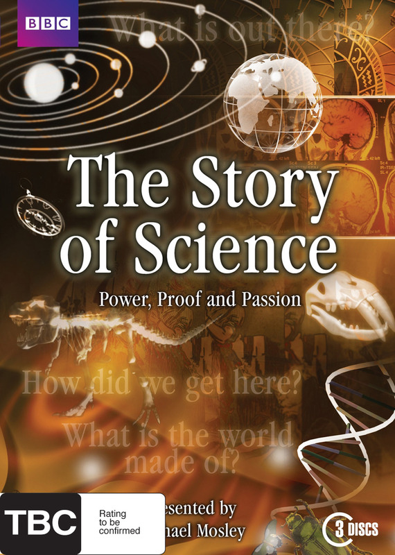 The Story of Science on DVD