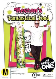 Heston's Fantastical Food - Series One (2 Disc Set) on DVD