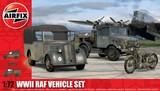 Airfix WWII RAF Vehicle Set 1/72 Model Kit