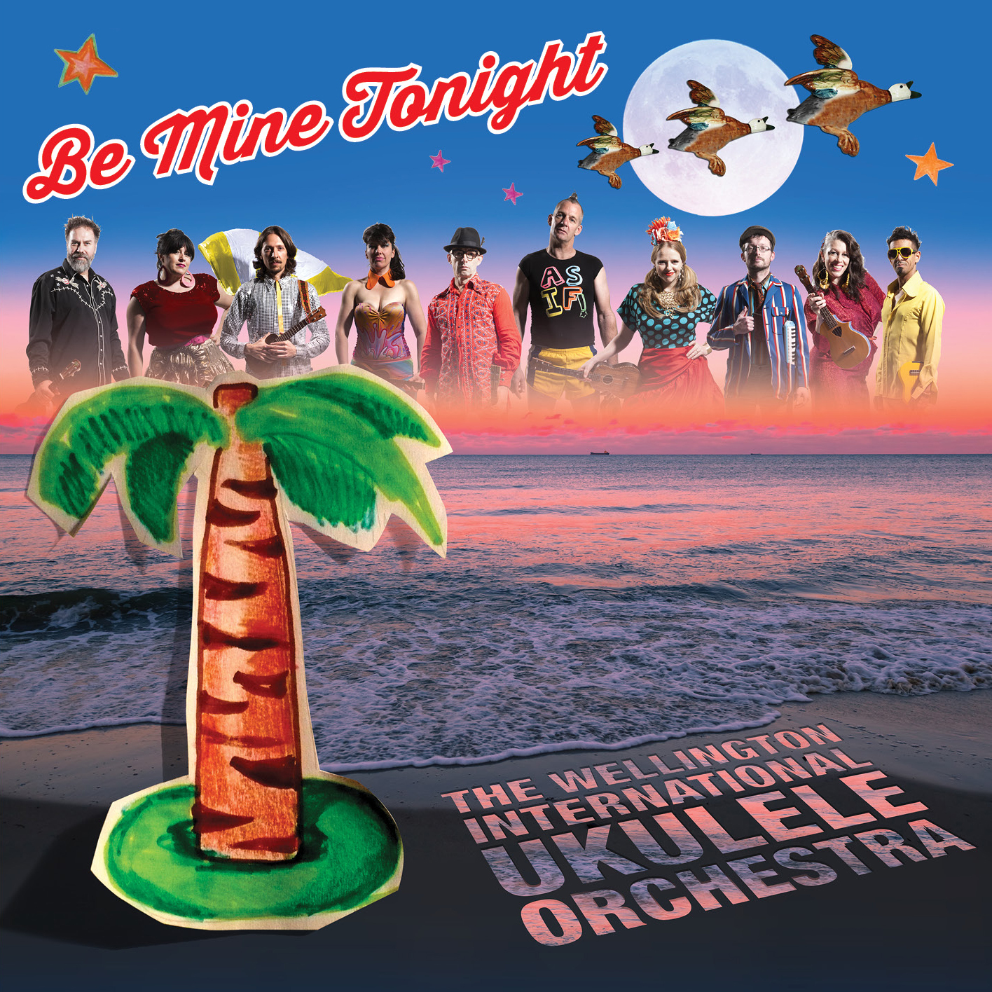 Be Mine Tonight by Wellington International Ukulele Orchestra image