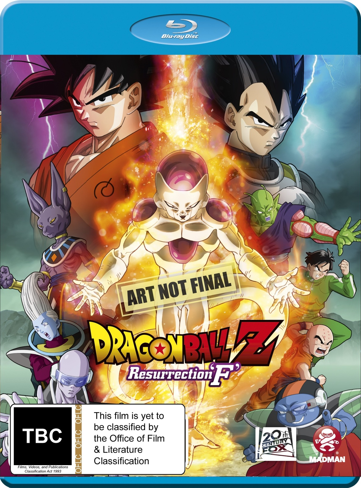 Dragon Ball Z: Resurrection 'F' on Blu-ray image