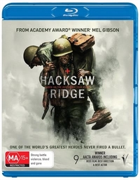 Hacksaw Ridge on Blu-ray