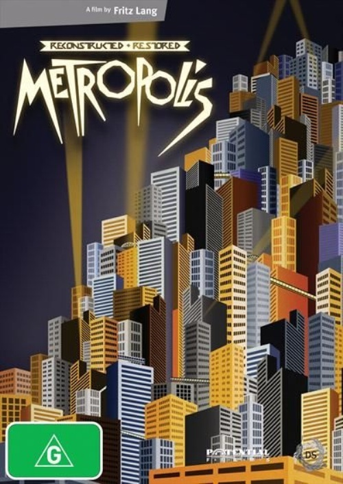 Metropolis Reconstructed & Restored on DVD image