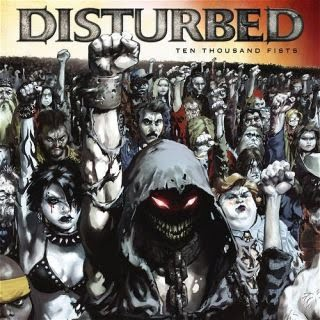 Ten Thousand Fists (CD/DVD) [Explicit Lyrics] [Limited Tour Edition] by Disturbed image