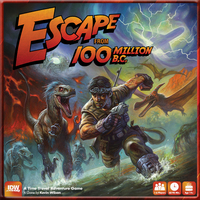 Escape from 100 Million BC - Board Game