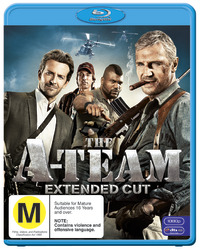 The A-Team on Blu-ray