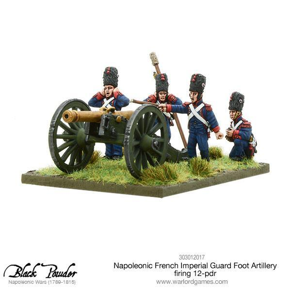 Napoleonic French Imperial Guard Foot Artillery 12 pdr