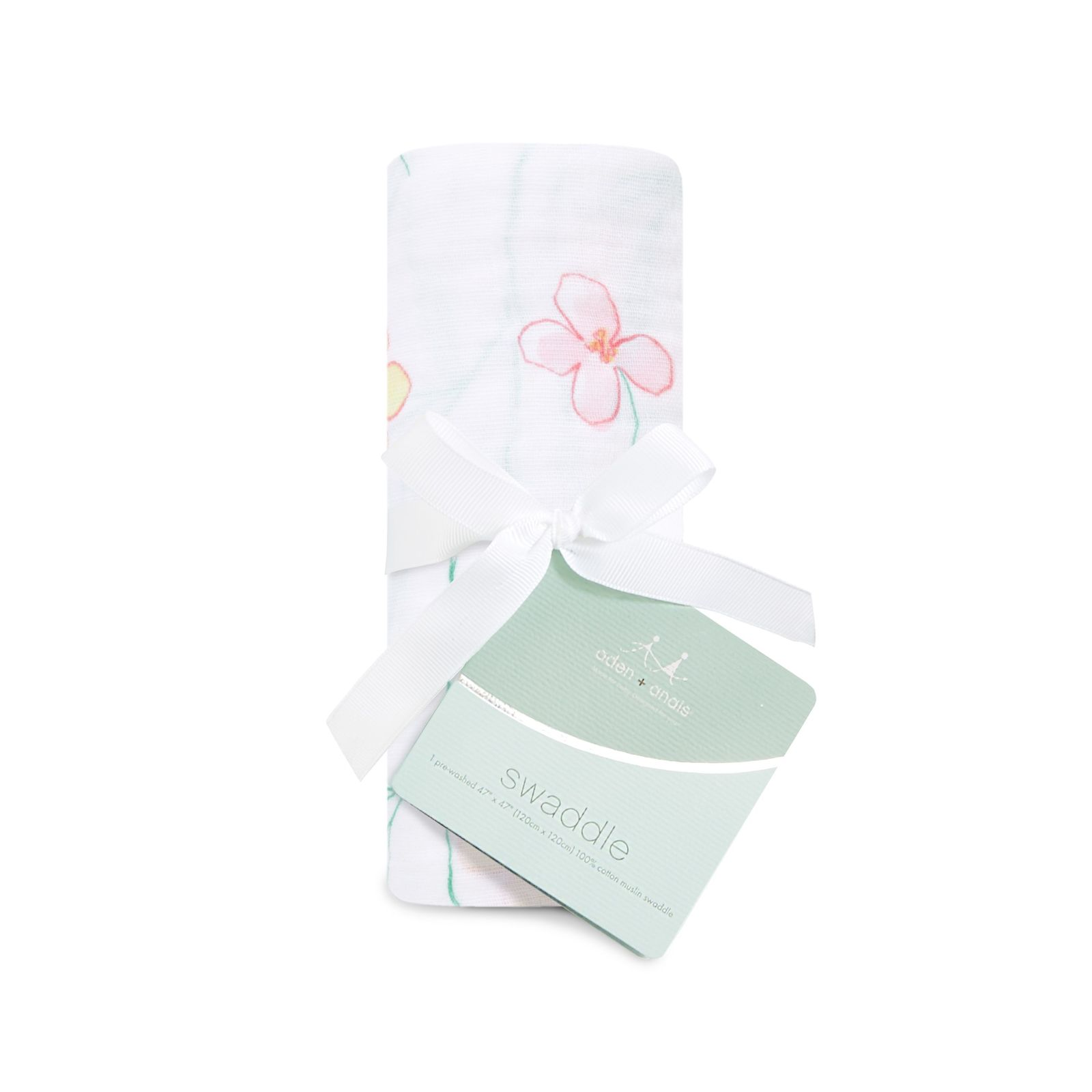 Aden + Anais: Classic Swaddle - Forest Fantasy - Flowers (Single) image