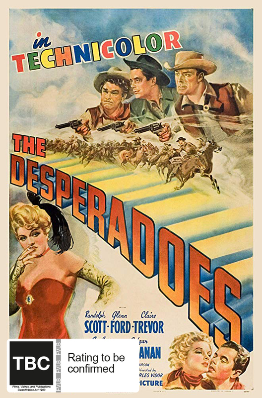 The Desperadoes (Six Shooter Classics) on DVD