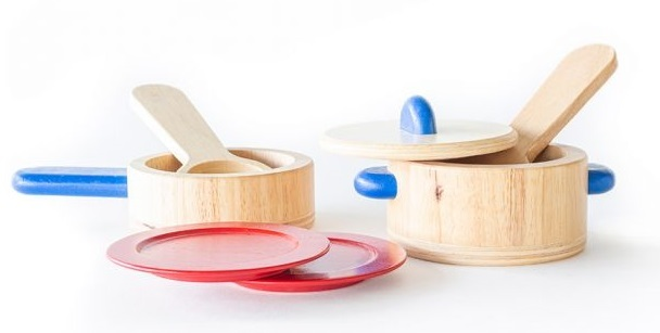 Cooking Ware - Wooden Roleplay Set