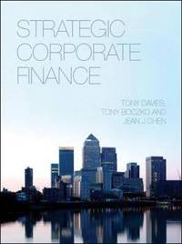 Strategic Corporate Finance by Tony Davies image