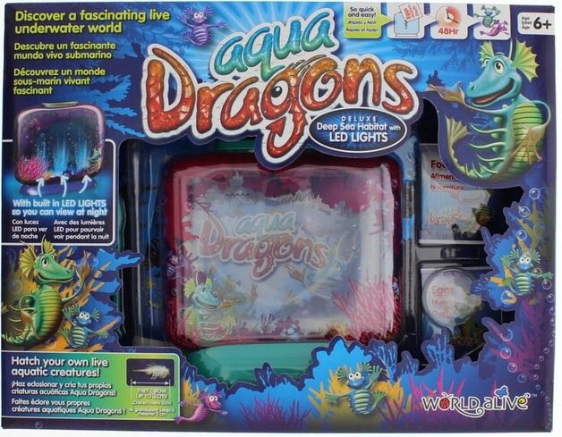 Aqua Dragons - Deep Sea Habitat with LED Lights