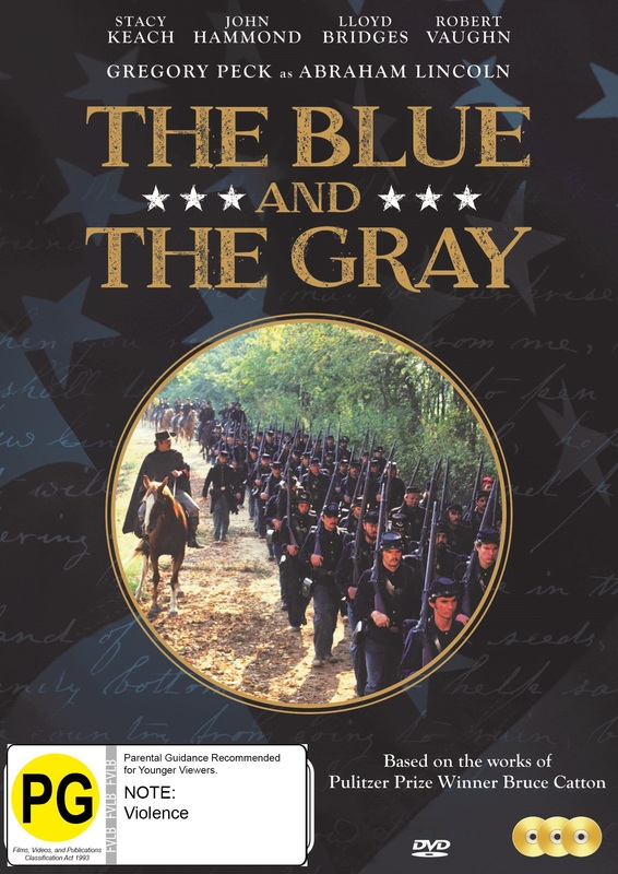 The Blue And The Gray - 150 Year Annniversary Edition Uncut on DVD