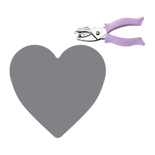 """Fiskars Hand Punch - Heart (1/4"""")"""