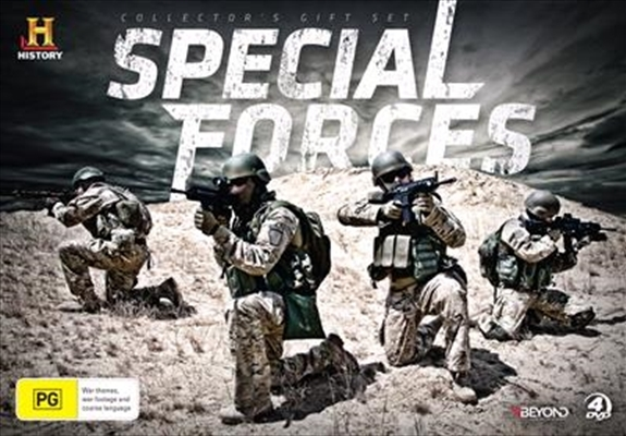 History: Special Forces Collector's Gift Set (Limited Release) (4 Disc Set) on DVD image