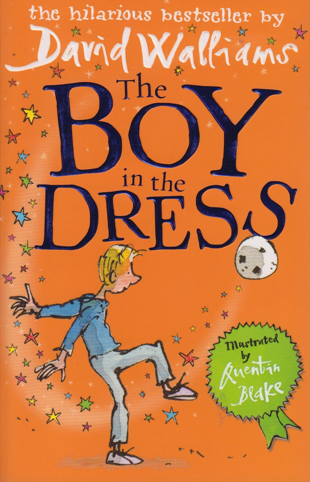 The Boy in the Dress by David Walliams image