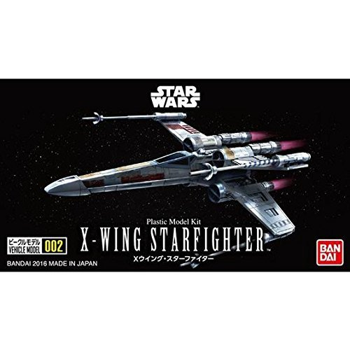 Star Wars VEHICLE MODEL 002 X-WING Starfigther - Scale Model Kit image