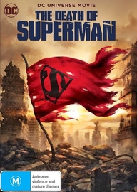 The Death of Superman on DVD image