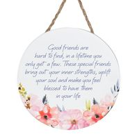 Empowerment Hanging Sign - Good Friends