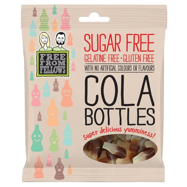 Free From Fellows: Sugar Free Cola Bottles