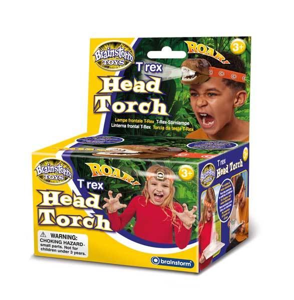 Brainstorm Toys: T Rex Head Torch