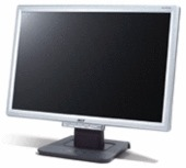 "Acer AL1916W 19"" Widescreen LCD Monitor Silver 8ms Response Rate"
