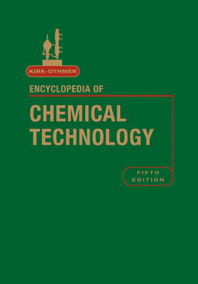 Kirk-Othmer Encyclopedia of Chemical Technology, Volume 18 by R.E. Kirk-Othmer