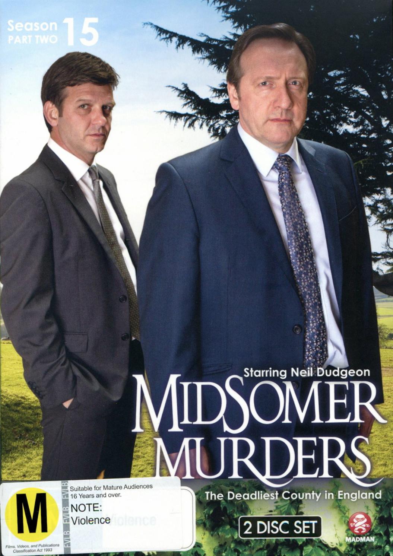 Midsomer Murders - Season 15 Part 2 on DVD image