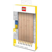 LEGO No2 Graphite Pencils - 9 Pack image