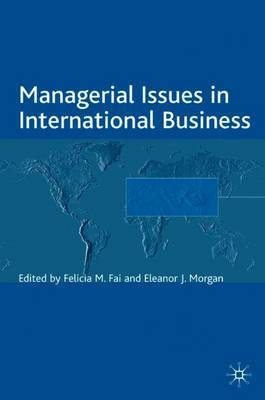 Managerial Issues in International Business