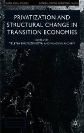 Privatisation and Structural Change in Transition Economies by Yelena Kalyuzhnova image